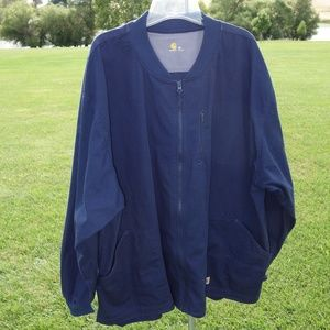 Like new carhartt 3X zip up LS rip stop work shirt